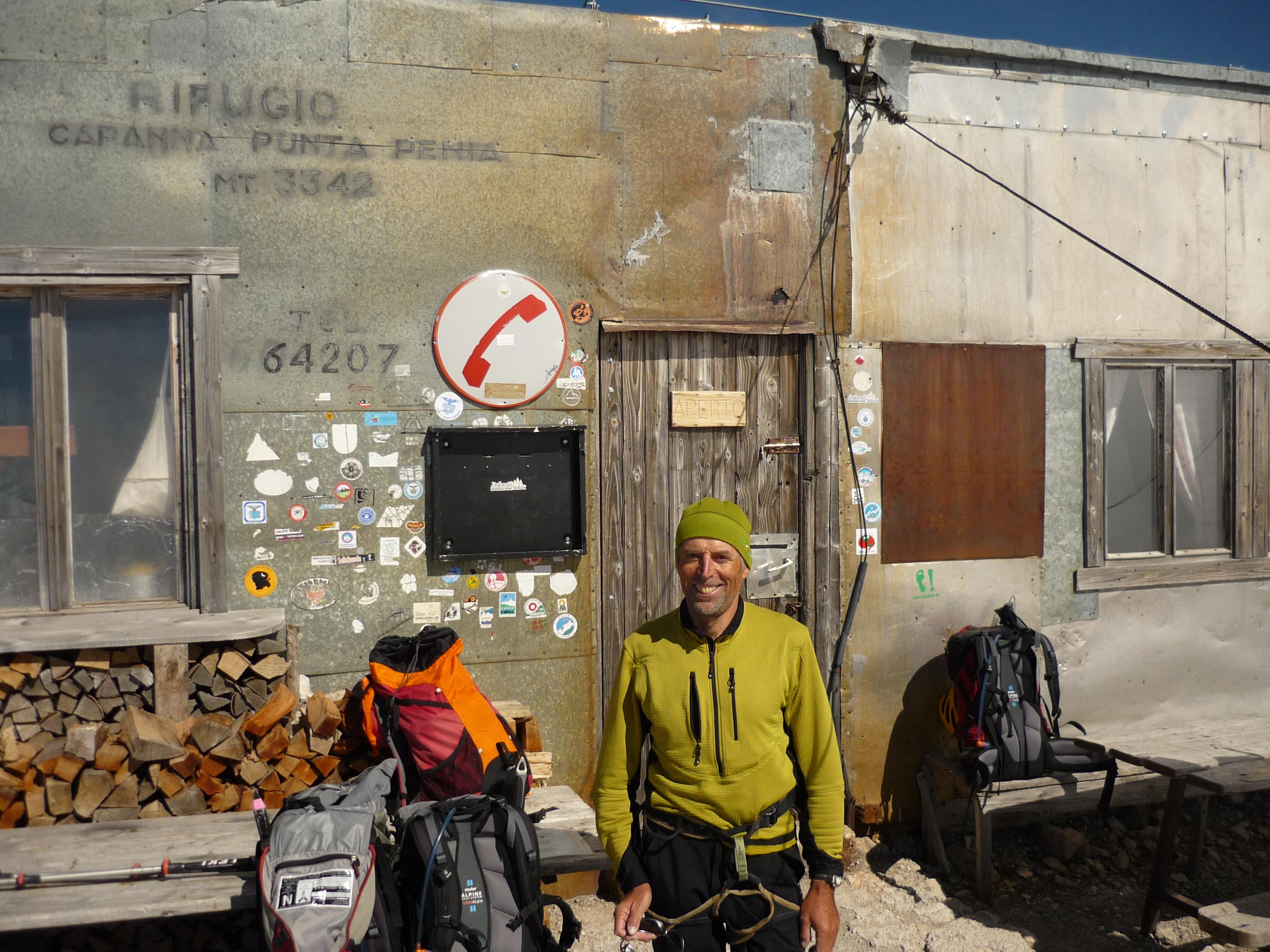 Rifugio Punta Penia - Marmolada
